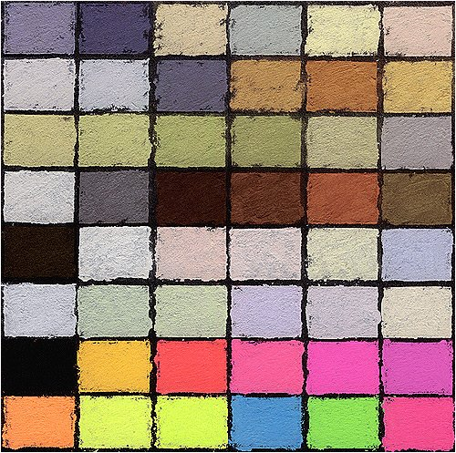 Diane Townsend Soft Pastels- Set of 48 Exotic Colors by Diane Townsend