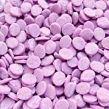 Natural Purple Gluten GMO Nuts Dairy Soy Free Confetti Sequins Bulk Pack.
