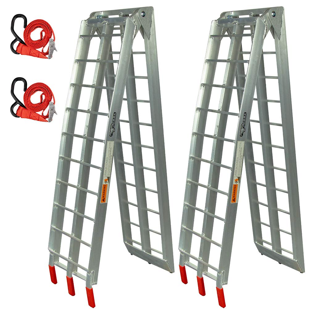 Pit Posse Folding Loading Ramps - 89 in (Set of 2) by Pit Posse