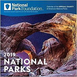 National Park Foundation Calendar 2019