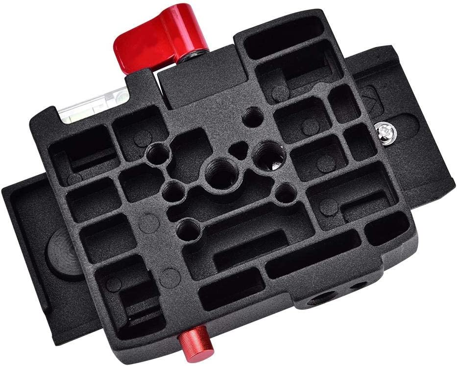 Simlug QR Clamp P200 Quick Release QR Clamp Base Plate for Manfrotto 500 AH 701 503 HDV 577