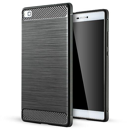 15 opinioni per Huawei P8 Cover,Huawei P8 Custodia,Lizimandu Creative 3D Schema UltraSlim TPU