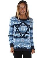 Women's The Night Before Hanukkah Sweater - Ugly Hanukkah Sweater
