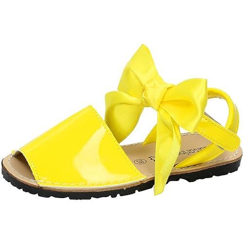 68ddfaedd SALTARINES 7501 Sandalia Piel Charol NIÑA Sandalias Amarillo 28  Amazon.es   Zapatos y complementos