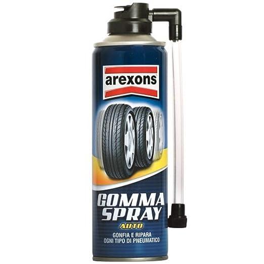 12 opinioni per Arexons 8473 Gomma Spray Sigilla Forature e Rigonfia Pneumatici