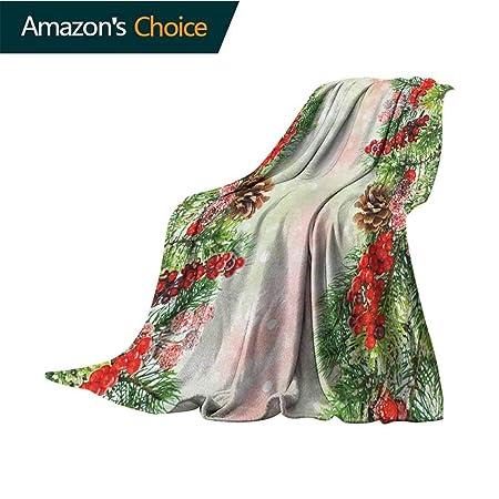 Custom&blanket Manta de Camping de Navidad, diseño de Copo ...