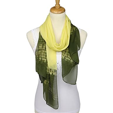 Spring and Autumn Hot Accessories Gradient Scarf Women Chiffon Scarf Small  Towel Gift bd60e6cea9