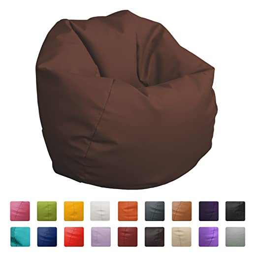 HAPPERS Puff Pelota 60cm diámetro (Granate): Amazon.es: Hogar