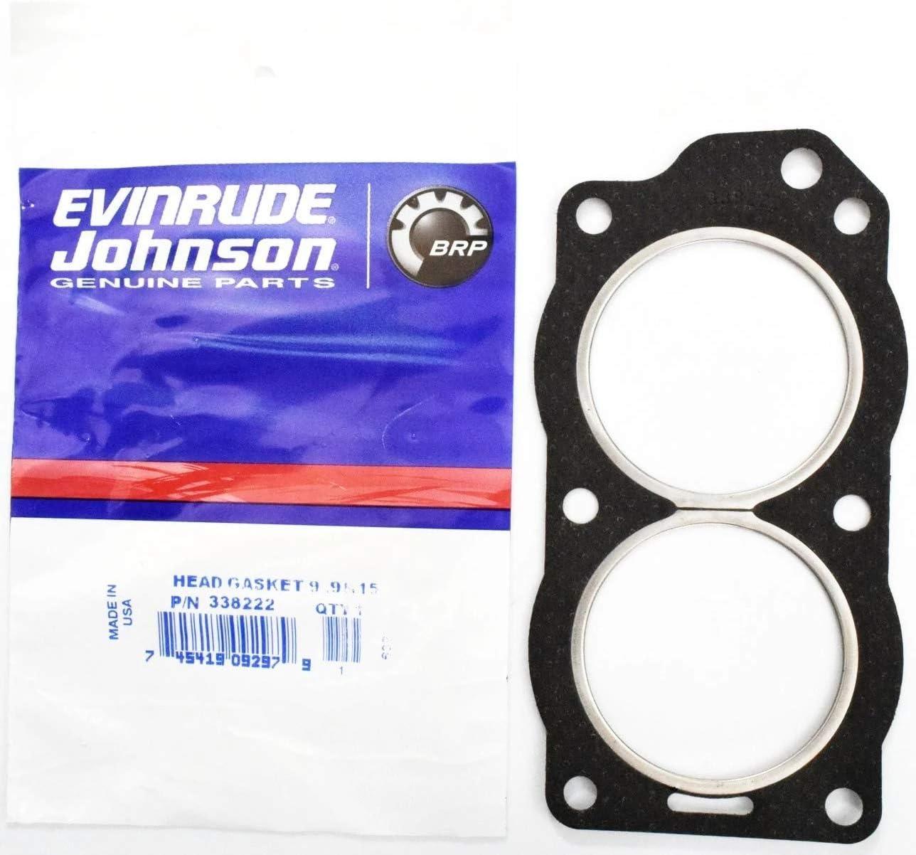 Evinrude Johnson Head Gasket 9.9 /& 15 338222