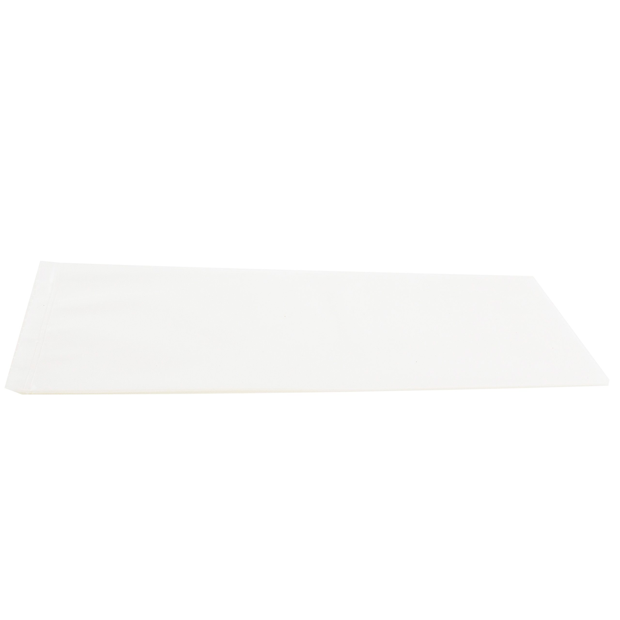 Polyethylene Bags, Unprinted, Clear, 4 mil Thick, 24 x 36 Inches, 100 per Case by RPI