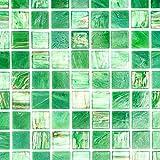 GLAS Mosaik Hexagon Sechseck ECO Carrara Wand Boden K/üche Dusche Bad Fliesenspiegel|WB16-0222|1Matte