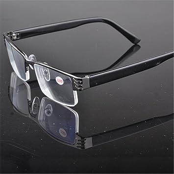bee525b968 Outstanding® Fashion Reading Glasses Old Blue Film Resin Presbyopia Metal  Half Frame Eyeglasses  Amazon.co.uk  Sports   Outdoors
