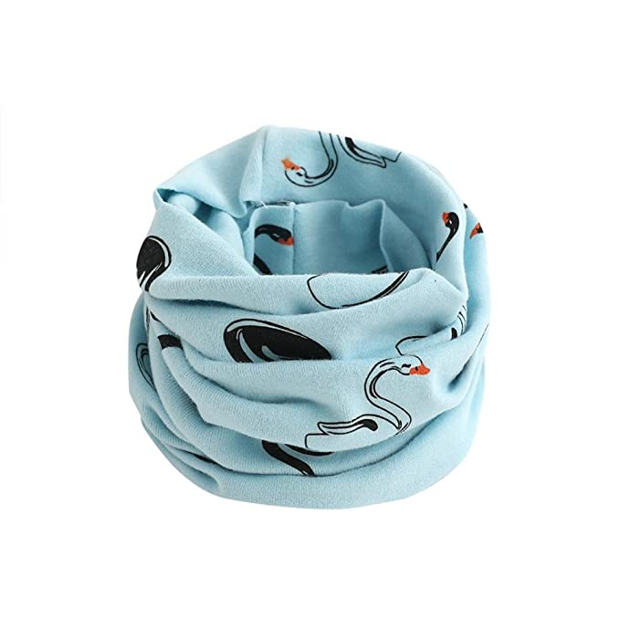 Baby Schal Clode® Kid Schal Tier Muster Nähen O-Ring Wolle Baby ...