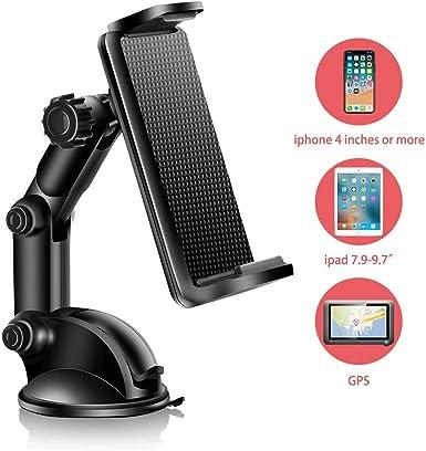 UOON Soporte de teléfono para coche, rotación de 360º, tablero de ...