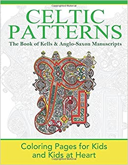 Celtic patterns the book of kells anglo saxon for Book of kells coloring pages