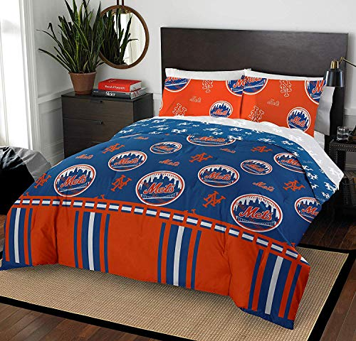 The Northwest Company MLB New York Mets Twin Bed in a Bag Complete Bedding Set #216850718
