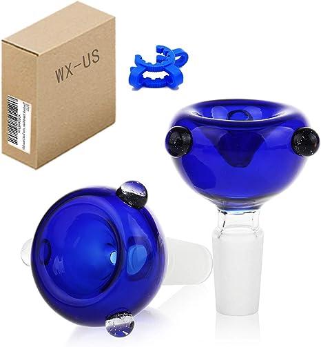 Handmade Holder Glass Herb Bowl 14mm 2pack