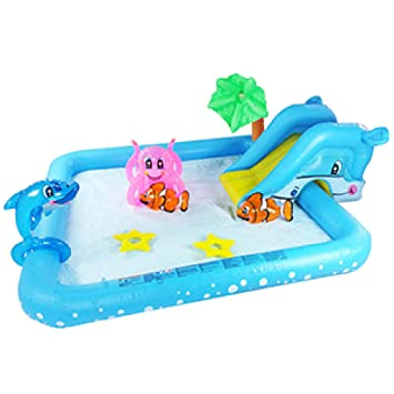 Amazon.com: Treslin Piscina inflable,: Home & Kitchen
