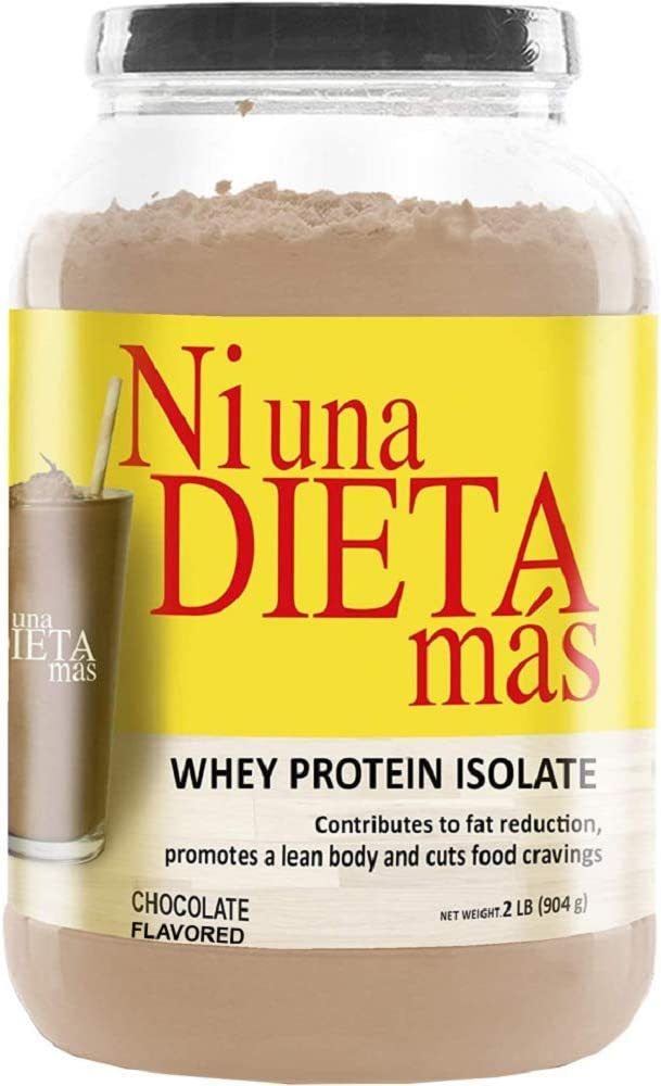 NI UNA DIETA MAS Reduce Abdominal Fat with a PROTEIN to Stop Food Cravings (for Kids and Adults) (chocolate flavor)