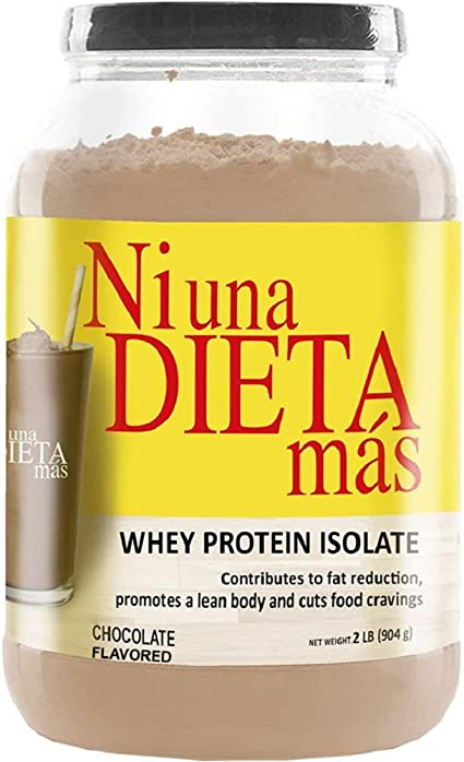 Ni Una Dieta Mas Reduce Abdominal Fat With A Protein To Stop Food Cravings For Kids And Adults Chocolate Flavor Health Personal Care