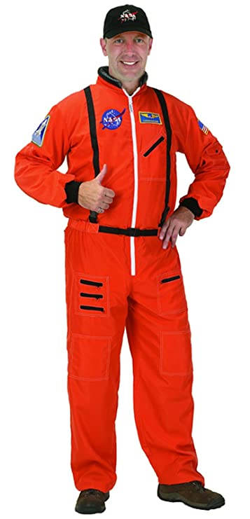 Aeromax Adult Astronaut Suit with Embroidered Cap
