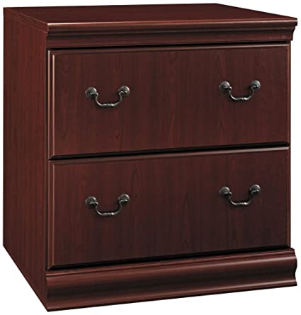 Charmant Bush Furniture Birmingham Lateral File Cabinet, Harvest Cherry