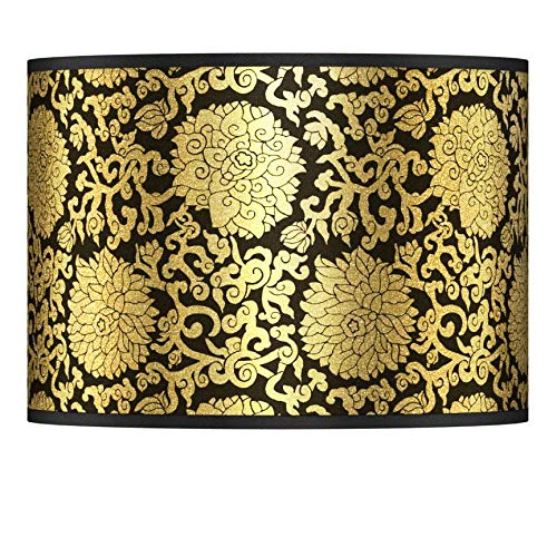 Thomas Paul Blossom Gold Metallic Shade 13.5x13.5x10 (Spider)