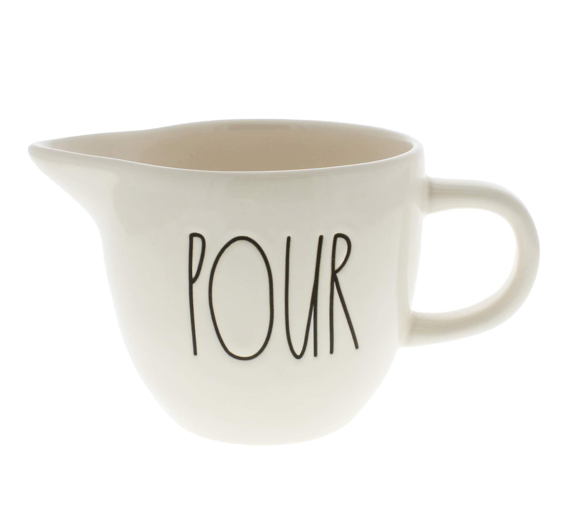 Rae Dunn Magenta Pour LL Ceramic Creamer