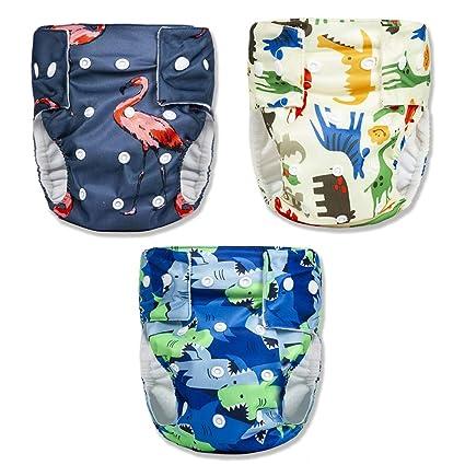 86fa948b6c12 Pantalones de pañales para bebés Aprendizaje de entrenamiento Ropa interior  Ropa interior impermeable Niñas niños,