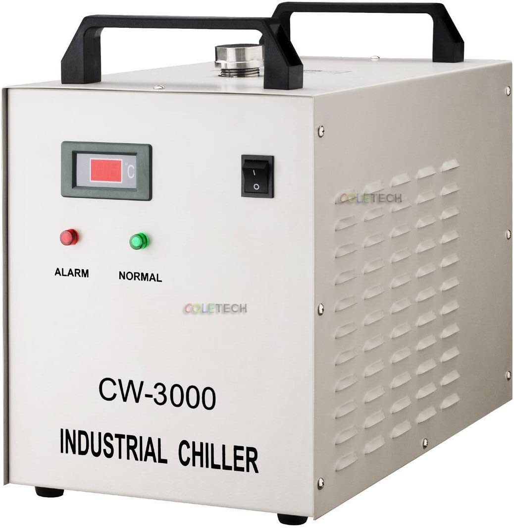 Cw3000 di refrigeratore di acqua industriale per Laser incisore macchina 220V