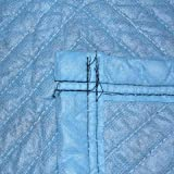 Vestil QPC-7280-DP Quilted Moving Pads Cushion, Light Blue - Pack of 12