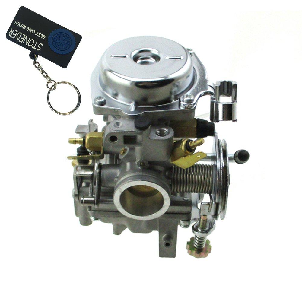 stoneder alto rendimiento Aftermarket carburador Carb Para Yamaha Virago XV250 (incluyen ruta 66) 1988 –  2014/Yamaha Virago XV125 1990 –  2011