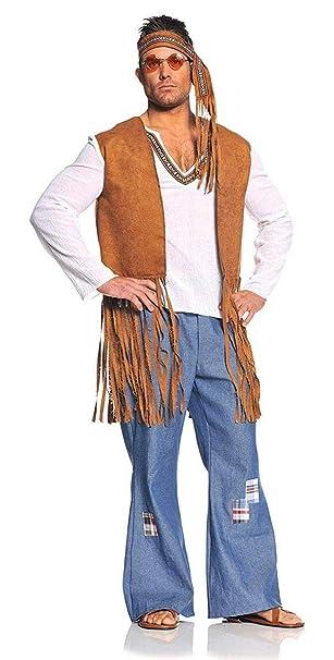 Underwraps Costumes Men S Retro Hippie Costume Right On