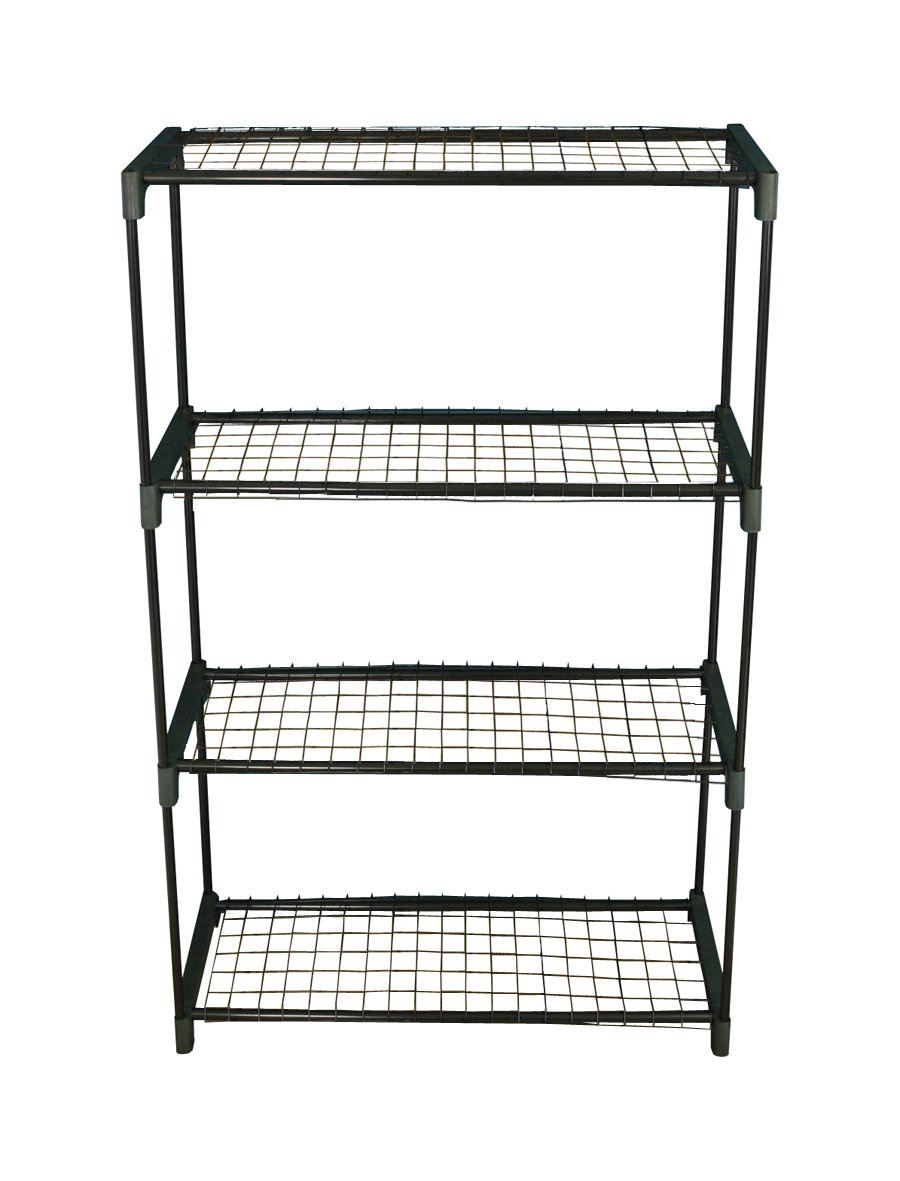 Selections GF756 4-Tier Greenhouse Staging Shelving Selections UK