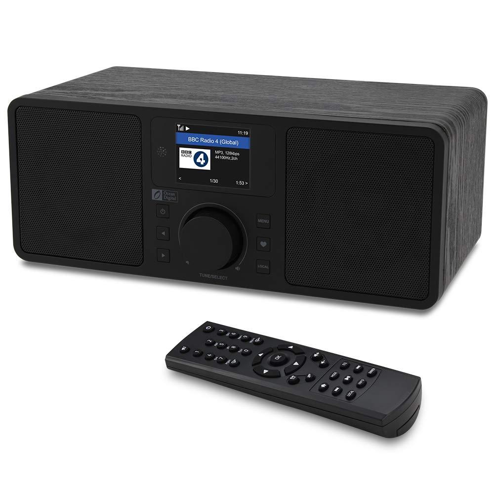 Ocean Digital WiFi Internet Radio Tuner WR-230S DAB/DAB+ ...