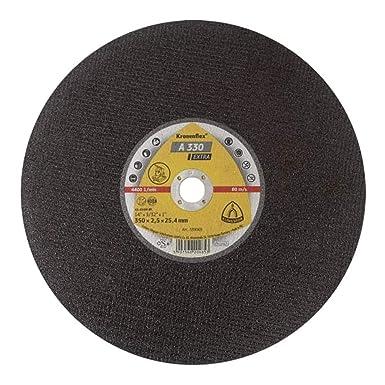 Klingspor 339069 Lot de 10 disques /à tron/çonner flexibles A 330 350 mm x 2,5 mm x 25,4 mm