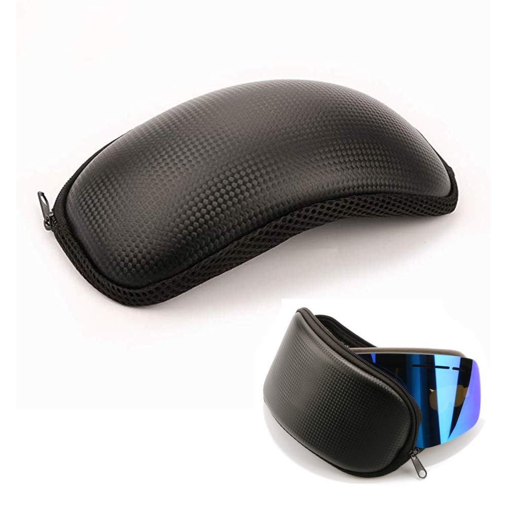 spiid Goggles Box Zipper Hook EVA Shockproof Waterproof Glasses Carrying Case