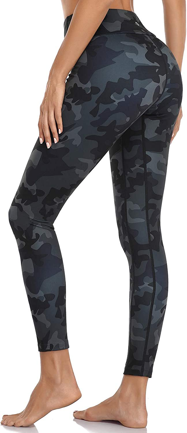 MOVE BEYOND Buttery Soft Womens Yoga Pants with Pockets High Waisted Compression Workout Running Leggings