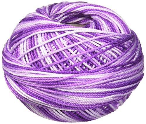 Handy Hands HH03162 Lizbeth Premium Cotton Thread, Size 3, Purple Iris -