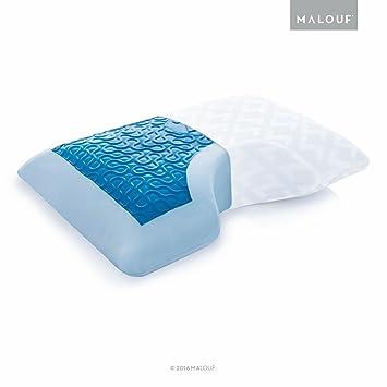 Amazon.com: Z Almohada de espuma viscoelástica con gel ...