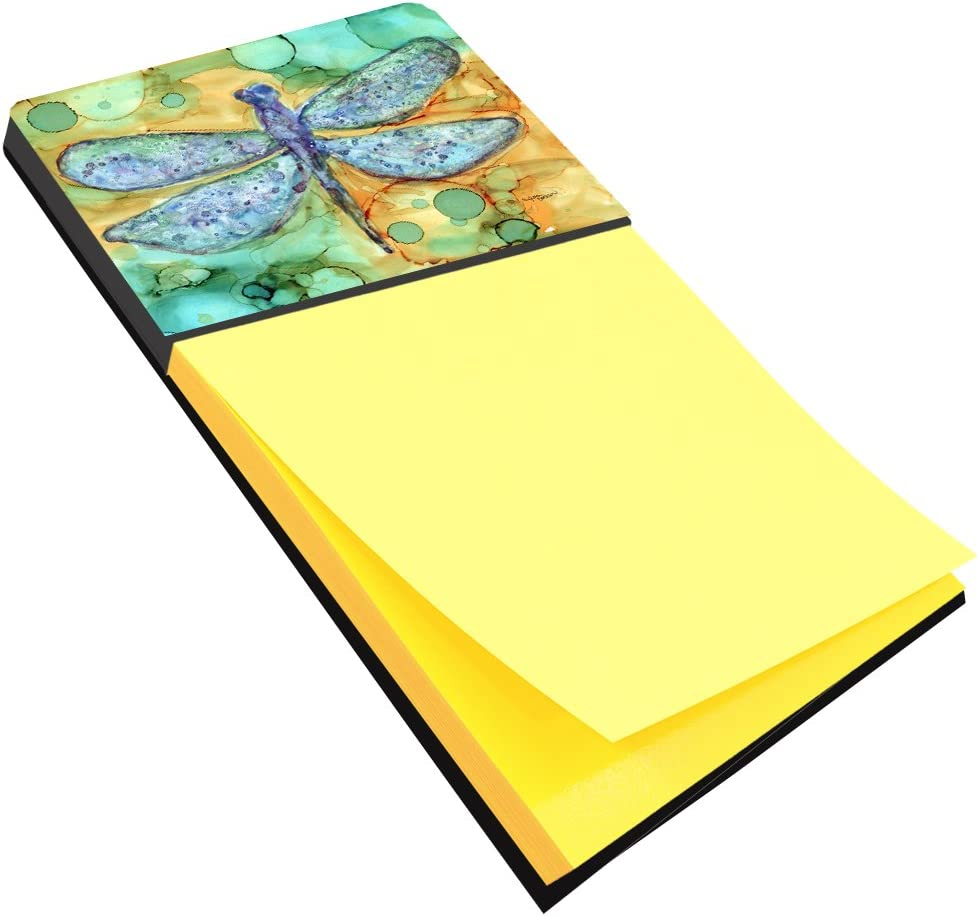 Caroline's Treasures 8967SN Abstract Dragonfly Sticky Note Holder, Large, Multicolor
