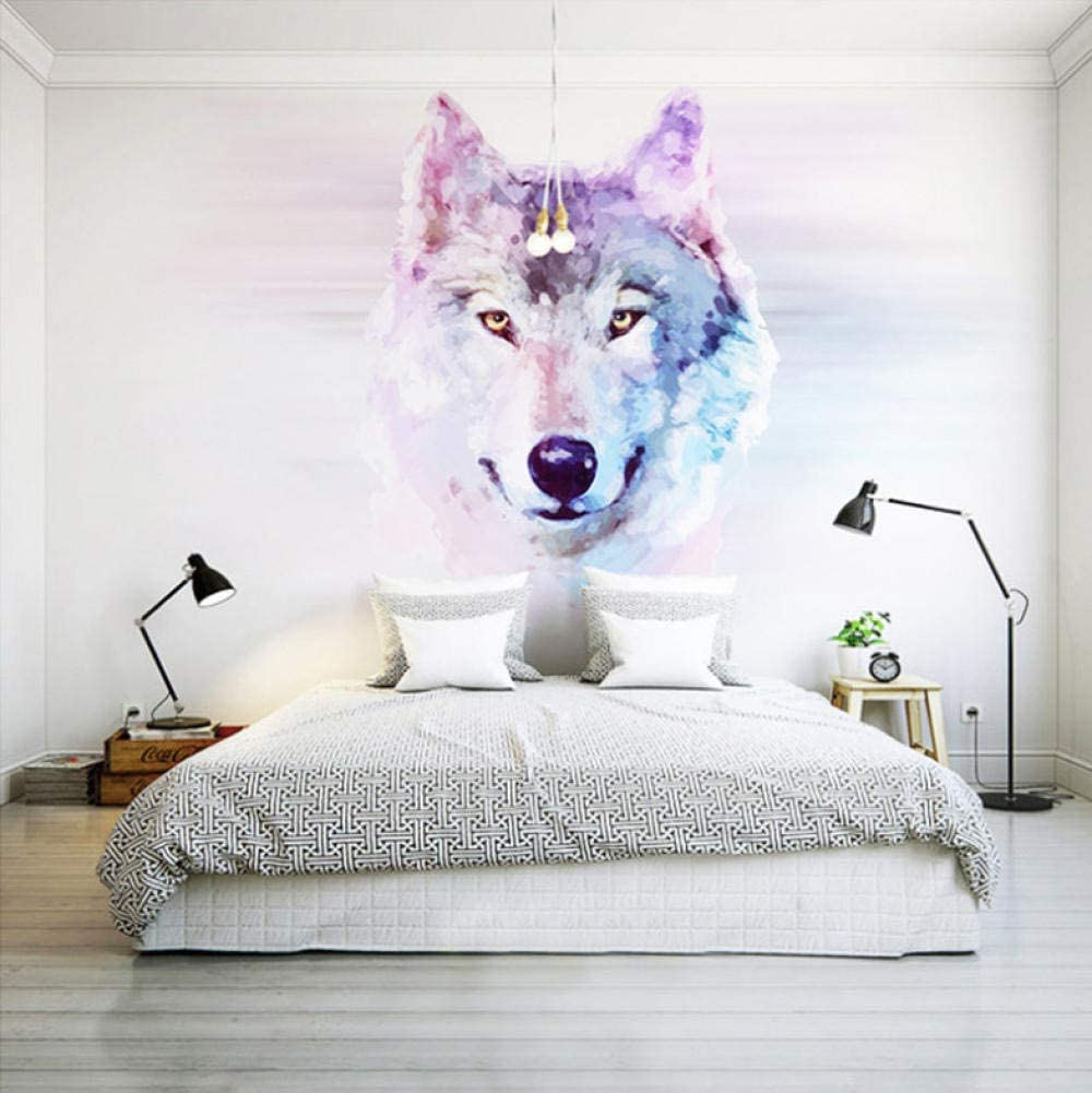 3D Blue Animal Wolf O599 Tapestry Hanging Cloth Hang Wallpaper Mural Photo Amy