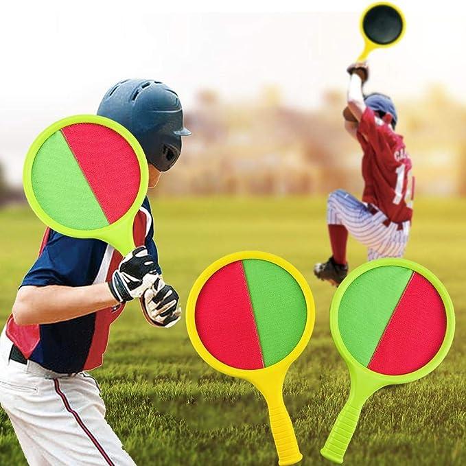 Juego de juego de raquetas de pelota coloridas raquetas de ...
