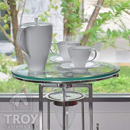 Amazon Com Troysys 1 2 Thick Round Circle Glass Table 14