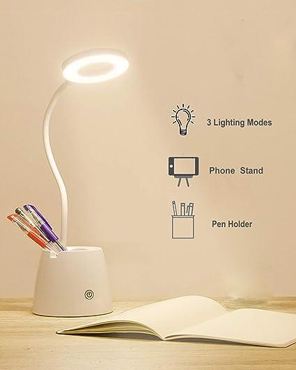 Flexo LED Escritorio, Suuki Lámpara de Protección Ocular con ...