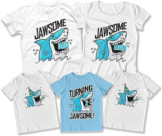 Amazon.com: Juego de 2 camisetas a juego para cumpleaños de ...