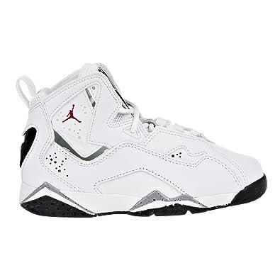 quality design 0fdf6 29dec Jordan Kids True Flight BP White Gym Red Black Wolf Grey Size 1