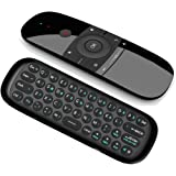 Air Remote Mouse,Lihetun IR Learning 2.4G Gyro USB Remote Control Mini Wireless Keyboard,for Chromebox Android Smart TV Box HTPC Projector PC(Not Work with Samsung LG Sonny TV Nvidia Shield Directly)