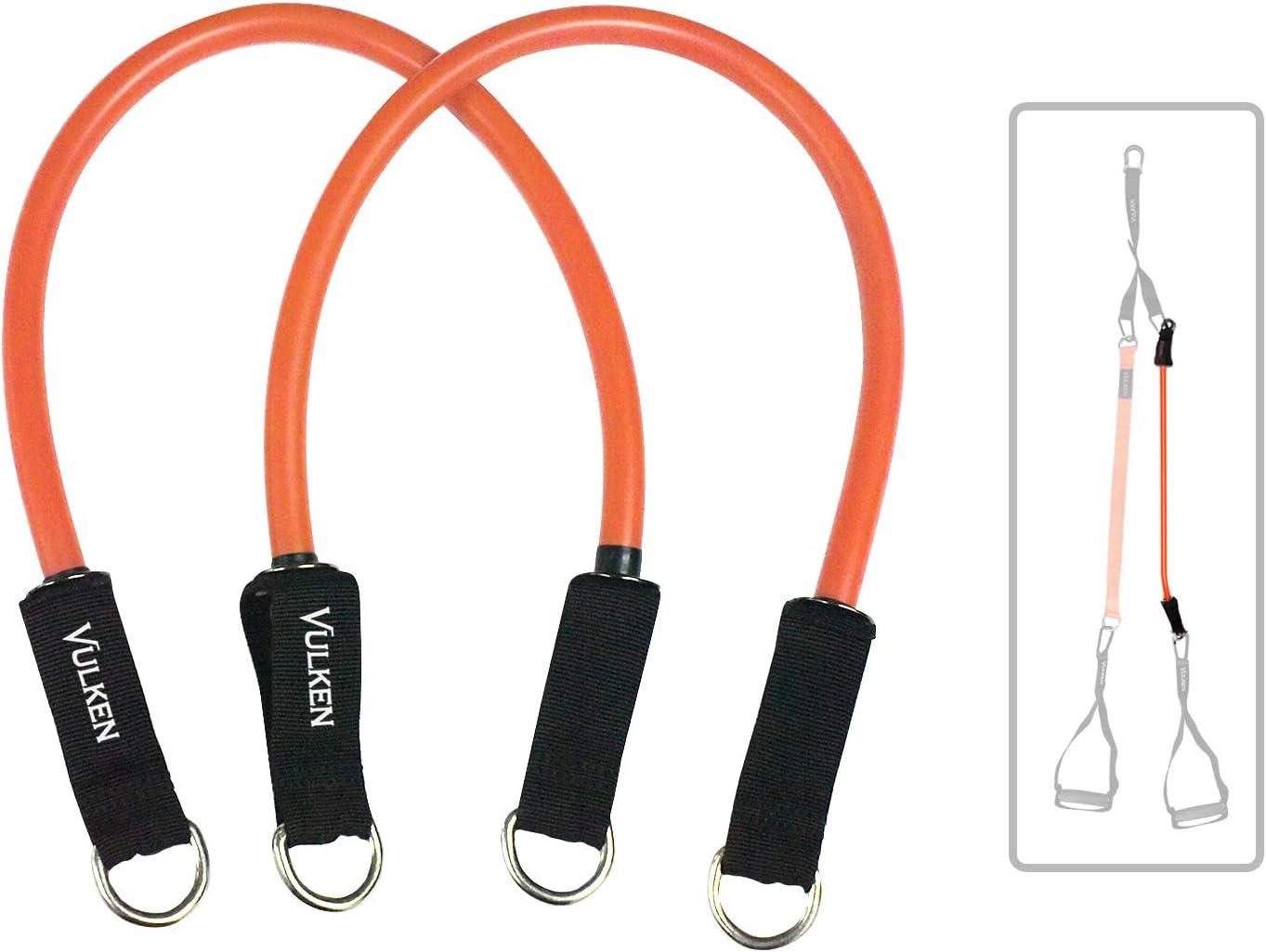 Vulken - Entrenador de suspensión con bandas de resistencia CoreSlings Entrenamiento de cuerpo completo con múltiples modos de entrenamiento de peso ...
