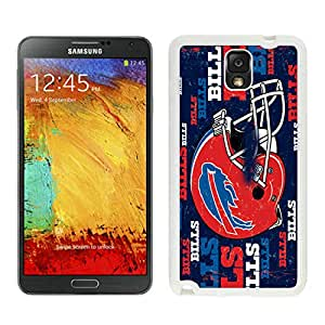 Customized Galaxy Note3 Case Design with Buffalo Bills in White